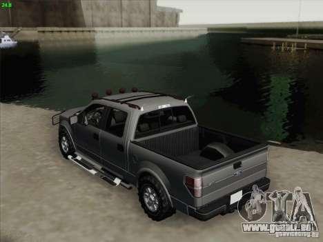 Ford F-150 pour GTA San Andreas vue de droite