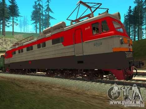 Vl60k 2364 RZD pour GTA San Andreas laissé vue
