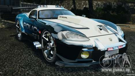 Dodge Viper SRT-10 ACR ELITE POLICE [ELS] pour GTA 4
