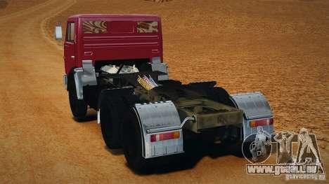 KAMAZ 5410 pour GTA 4 est une gauche