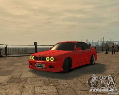 Bmw 535i (E34) tuning pour GTA 4 est un droit