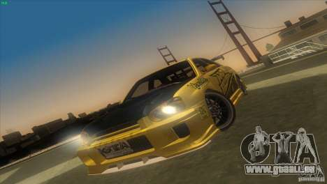 Subaru Impreza WRX No Fear pour GTA San Andreas