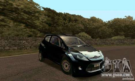 Ford Fiesta Rally für GTA San Andreas linke Ansicht