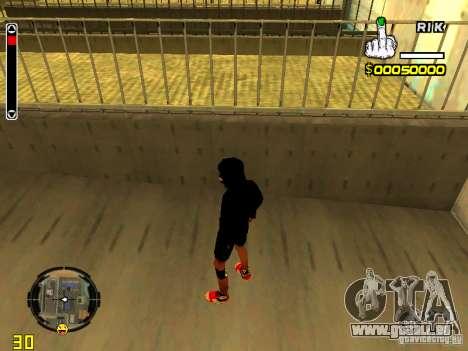 Haut Penner v7 für GTA San Andreas dritten Screenshot