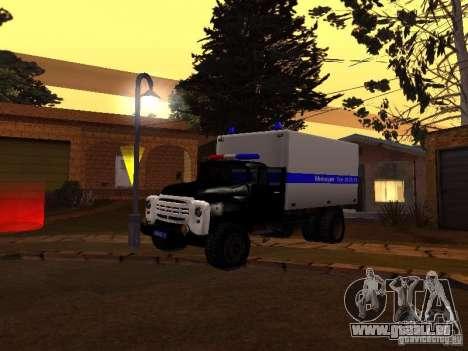 ZIL 130 Polizei für GTA San Andreas linke Ansicht