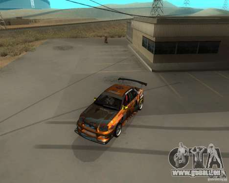 Subaru Impreza WRX Team Orange DRIFT SA-MP pour GTA San Andreas