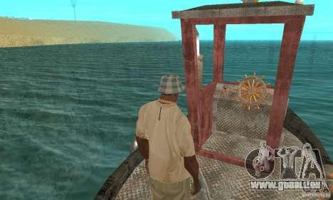 Lil Tug pour GTA San Andreas vue arrière