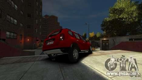 Dacia Duster SUV 4x4 2010 für GTA 4 Seitenansicht
