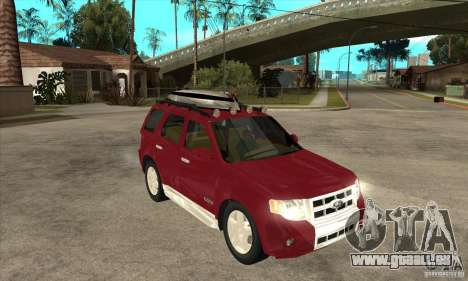 Ford Escape 2009 pour GTA San Andreas vue arrière