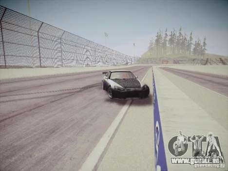 Honda S2000 JDM Dirft pour GTA San Andreas vue intérieure
