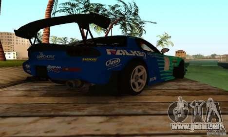 Mazda RX7 Falken edition pour GTA San Andreas vue de droite