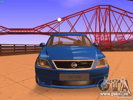 Nissan NP200 pour GTA San Andreas