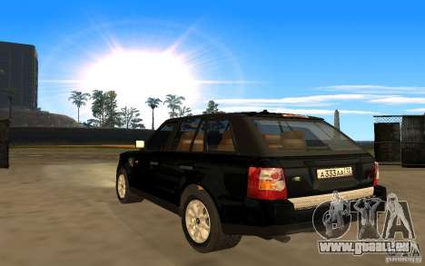 Land Rover Range Rover für GTA San Andreas linke Ansicht