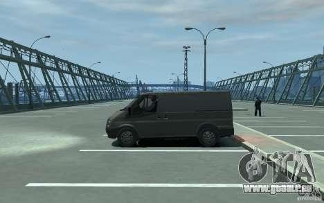 Ford Transit 2011 pour GTA 4 est une gauche