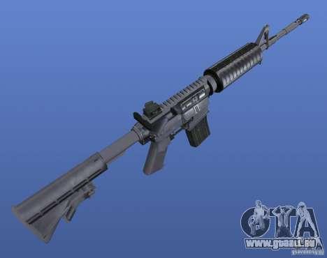 M4 Texture für GTA 4 dritte Screenshot