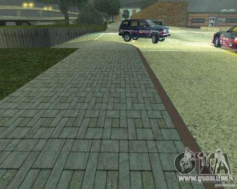 Construction de nouvelles routes à San Fierro pour GTA San Andreas troisième écran