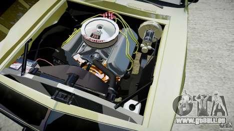 Chevrolet Camaro RS/SS 396 1968 pour GTA 4 est un côté