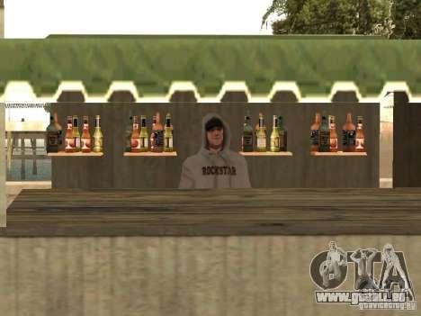 Marché sur la plage pour GTA San Andreas cinquième écran