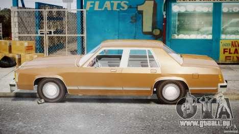 Ford Crown Victoria 1983 für GTA 4 Seitenansicht