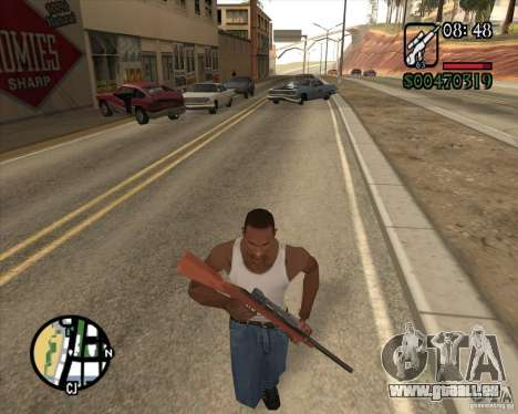 Endorphin Mod v.3 für GTA San Andreas her Screenshot