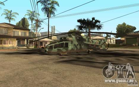 MI-24 A pour GTA San Andreas