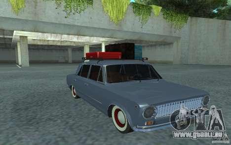 Vaz-2101 Style rétro pour GTA San Andreas vue arrière