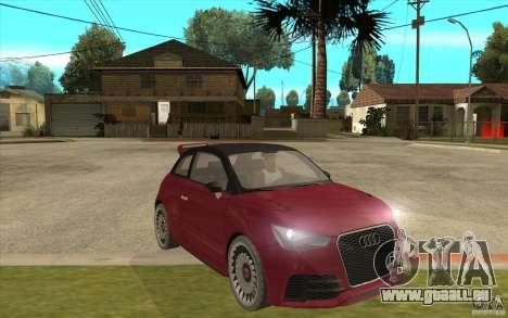 Audi A1 Clubsport Quattro für GTA San Andreas Rückansicht
