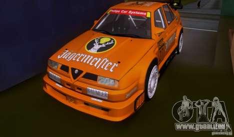 Alfa Romeo 155 v6 DTM Jagermeifter pour GTA San Andreas