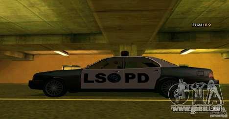 Merit Police Version 2 pour GTA San Andreas laissé vue
