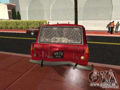 Moskvich 434 pour GTA San Andreas vue de côté