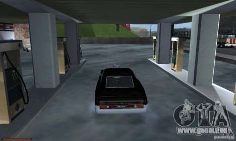 Essence capteur unique pour GTA San Andreas septième écran