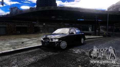 Toyota Corolla 1.6 für GTA 4 Rückansicht