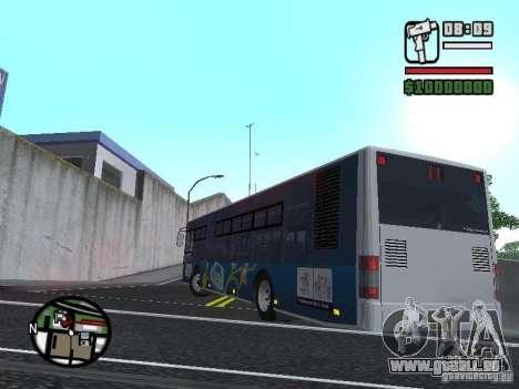 CityLAZ 12 LF pour GTA San Andreas laissé vue