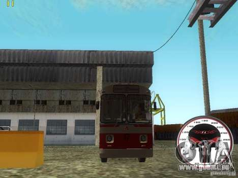 ZiU 682 b für GTA San Andreas zurück linke Ansicht