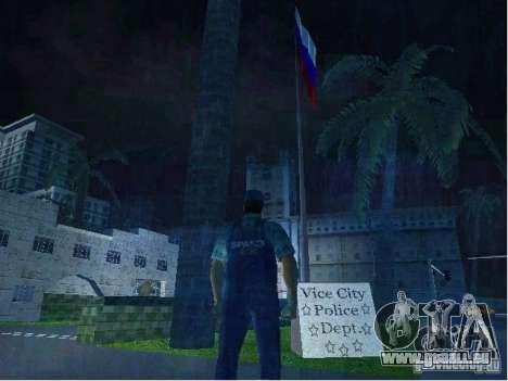 Nouveaux modèles de poste de police GTA Vice City pour la troisième écran
