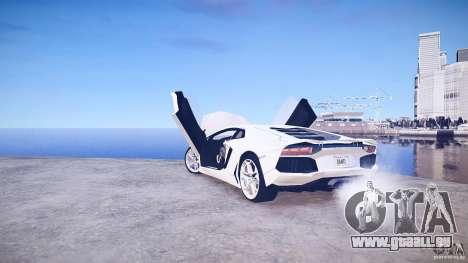 Lamborghini Aventador LP700-4 v1.0 pour GTA 4 vue de dessus