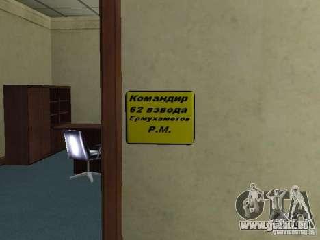 Corps de cadets de Krasnoïarsk pour GTA San Andreas