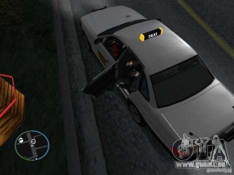 Taxi-mod für GTA San Andreas