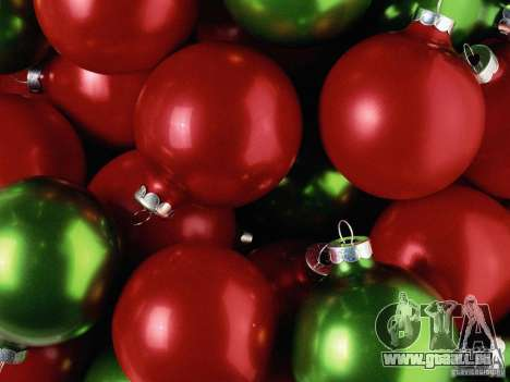 Image clipart Noël botte pour GTA San Andreas deuxième écran