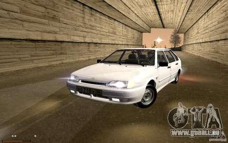 ВАЗ 2114 qualité pour GTA San Andreas vue arrière