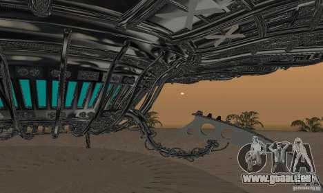 UFO für GTA San Andreas linke Ansicht