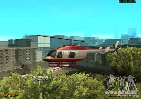 New Maverick pour GTA San Andreas