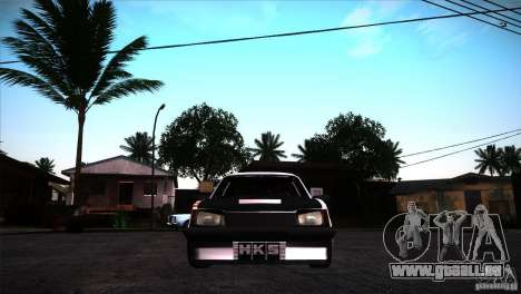 Opel Ascona Tuning Edition pour GTA San Andreas vue arrière