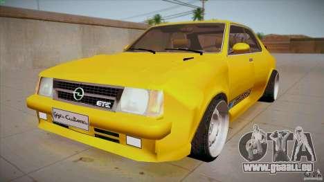 Opel Kadett D GTE Mattig Tuning für GTA San Andreas