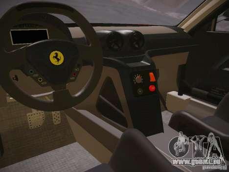 Ferrari 599XX pour GTA San Andreas vue arrière