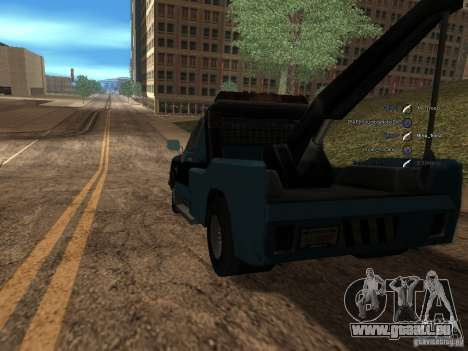 Chevrolet Towtruck für GTA San Andreas zurück linke Ansicht