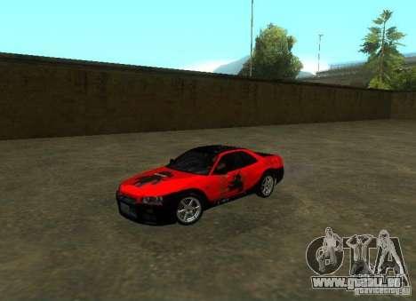 Nissan Skyline GTR-34 für GTA San Andreas Innen