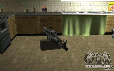 PKP petchenègue mitrailleuse pour GTA San Andreas deuxième écran
