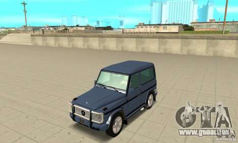 Mercedes-Benz G500 1999 Short [with kangoo v2] pour GTA San Andreas