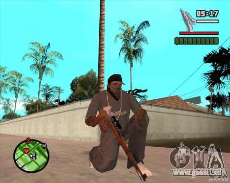 K98 für GTA San Andreas